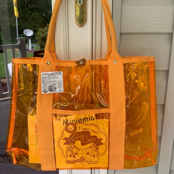 Japan Disney Eco Tote Bag Shopping Bag Chip /& Dale